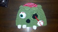 A personal favorite from my Etsy shop https://www.etsy.com/listing/130737742/zombie-hat-your-choice-of-size-can-vary