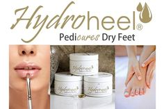 HYDROHEEL - THE INSTANT PEDICURE, MANICURE & ECZEMA TREATMENT (PERFECT FOR DRY, CRACKED HEELS, LIPS, HANDS)  Transforming Dry Skin In Seven Days Or Less  STARTING AT    76% OFF