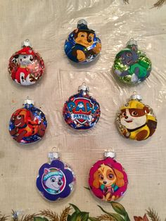 Paw Patrol Christmas ornaments will be as big a hit as Santa Claus at your house! You may want more than one of these Paw Patrol Christmas ornaments. Paw Patrol Christmas Ornaments, Christmas Ornament Template, Disney Christmas Ornaments, Unique Christmas Decorations, Christmas Tree Themes, Christmas Items, Xmas Ornaments, Christmas Costumes, Diy Christmas