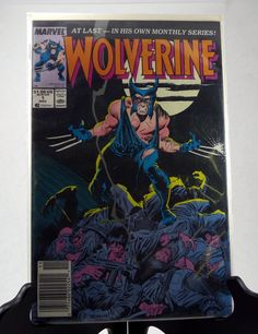 "Wolverine 1 Comic Book - Wolverine #1 1988 Marvel Comic - Wolverine ""1st Series - Chris Claremont by AmalgamationCapital on Etsy"