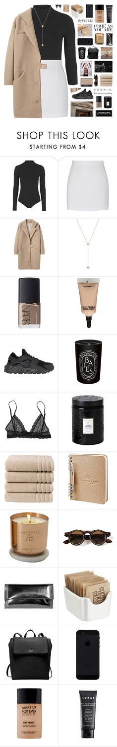 """Lusaka // playlist"" by nanarachel ❤ liked on Polyvore featuring Topshop, Cacharel, Jennifer Zeuner, NARS Cosmetics, MAC Cosmetics, NIKE, Diptyque, Eberjey, Voluspa and Christy"