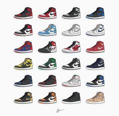 Air Jordan 1 Art
