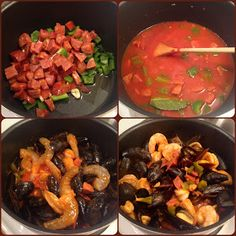 Foodie in a Paleo World: Portuguese Mussels and Shrimp in Chorizo Sauce