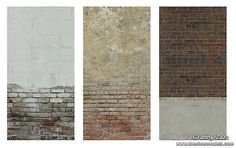 Brick Walls by Granny Zaza at The Sims Models via Sims 4 Updates