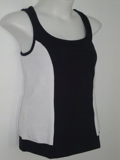NEW Jockey Reversible Tank Top LARGE & XL Yoga Cycling Running Black Gray Shirt #Jockey #ShirtsTops