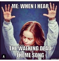 Me Every sunday when it comes on