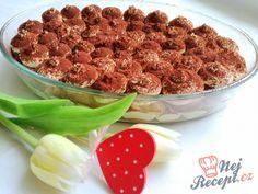 Tiramisu - pravé nefalšované   NejRecept.cz Tiramisu, Almond, Recipes, Food, Deserts, Sweet, Essen, Almond Joy, Eten