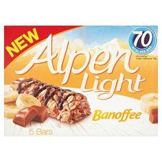 Alpen Light Banoffee Bar 5 Pack 95G