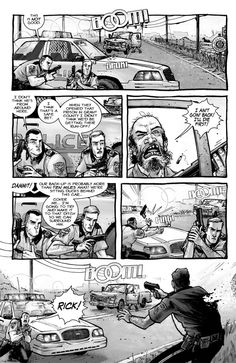 THE WALKING DEAD graphic novel - See best of PHOTOS of the Zombie TV series http://www.wildsound-filmmaking-feedback-events.com/the_walking_dead.html