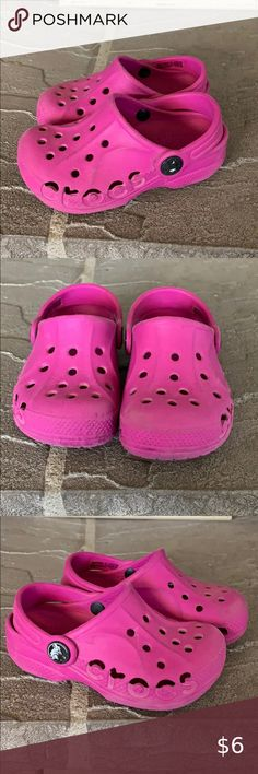 CROCS BAYA COTTON CANDY CLOGS//SHOES C 12//13 FREE SHIPPING NEW WITH TAGS