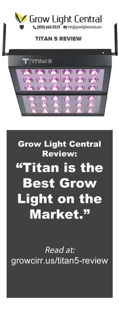 """""""It's the best light on the market."""" - Grow Light Central, review of T500 LED Grow lights now offer far more than just big energy savings. . . Customize your grow schedules with a fully controllable spectrum. www.CirrusLEDGrowLights.com . . . #GrowLights #LedGrowLights #GrowRoom #Hydro #LED #LedGrown #Cannabis #Veggies #Greenhouses #IndoorGrow #Growers #GrowLighting #GreenThumb #CannabisCulture #LedLights #marijuana #marijuanamovement"""