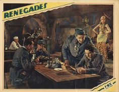 Lobby Card from the film Renegades