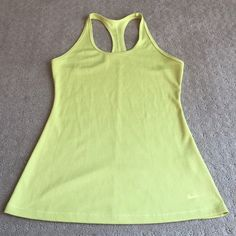 Nike Dri-Fit Tank Top Size M, only worn a few times, smoke free home! Could wear for work out or casual wear! Nike Tops Tank Tops