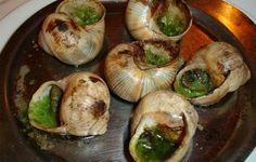Fresh snails in France