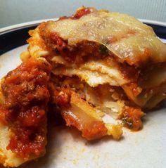 Libby Murphy: Lasagna made from scratch