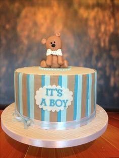 Baby Shower cake. It's a boy!