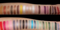 BH Cosmetics Party Girl Eyeshadow Palette Swatches....omg this is on my wish list**