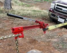 Here's an absolute must have accessory for all Hi-Lift Jack® owners. It's a wonder tool with a seemingly endless list of uses. Simple clevis pin attachment installs on your Hi-Lift Jack® in seconds. Winching is simpler and safer.