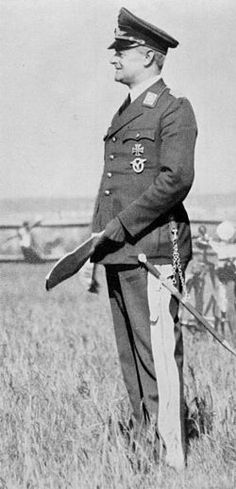 n 1933 von Richthofen joined the Luftwaffe, commanded by his former commanding officer at JG 1, in 1918, Hermann Göring. By 1934 he was in charge of developing and testing new aircraft. Although Richthofen had known Göring, having served under him in the First World War in JG 1, the two did not get along. They both came from aristocratic backgrounds, but Richthofen was a Silesian from Lower Silesia, a staff officer who enjoyed the company of engineers and like-minded men.
