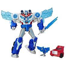 """Transformers: Robots in Disguise - Optimus Prime Déluge de puissance et Aerobolt - Édition français - Hasbro - Toys""""R""""Us"""