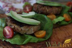 Wildtree's Sweet Potato & Bacon Turkey Burgers Recipe http://mywildtree.com/jillbuck