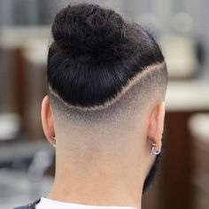 21 Trendy Ideas For Haircut Short Pixie Undercut Curly Hair Man Bun Haircut, Man Bun Hairstyles, Cool Hairstyles For Men, Haircuts For Men, Braided Hairstyles, Haircut Short, Beautiful Hairstyles, Natural Hairstyles, Undercut Curly Hair