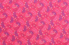 Cotton Fabric Fern Fabric Pink Fabric Sewing Fabric Pink thefabricscore.etsy.com #thefabricscore #sewing #pink
