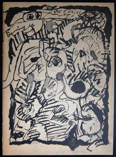 Stedelijk Museum# ALECHINSKY ,que d'Encre, orig.litho 1963, Sandberg, nm+ Picasso, Line Drawing, Painting & Drawing, Art Informel, Monet, Van Gogh, Black And White Artwork, Global Art, Textile Design