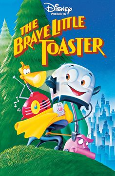 The Brave Little Toaster [1987] directed by Jerry Rees, featuring the voices of Deanna Oliver, Timothy Stack, Jon Lovitz, and Phil Hartman.