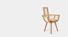 2W Wooden&Woolen chair