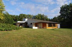 Maison Carré, Bazoches-sur-Guyonne, France, by Alvar Aalto