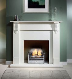 Richmond Agean Limestone Surround, From Gallery Fireplaces