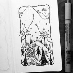 Dave Garbot — Walking the Ridge  (at Portland, Oregon)