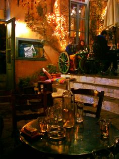 #Athens #Greece #tavern #vintage