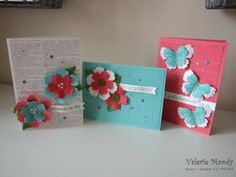 The new Gorgeous Grunge and Chalk Talk stamps work beautifully together to create fun thank you cards!