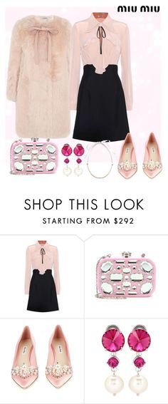 """Creampuff"" by evalevmar ❤ liked on Polyvore featuring Miu Miu and miumiu"