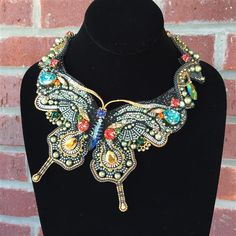 Facet Jewelry Making - Jewelry Making Start to Finish Bead Embroidery Jewelry, Beaded Jewelry Patterns, Beaded Embroidery, Beading Patterns, Jewelry Art, Jewelry Design, Fashion Jewelry, Jewellery, Butterfly Jewelry