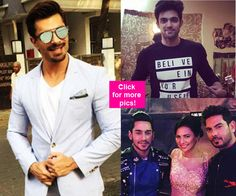 Karan Singh Grover Parth Samthaan Rochelle Rao  Here is a look at the best of TV Insta this week!