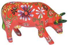 Flower Lover Cow (Medium Ceramic) on Shop CowParade