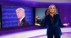 'What the f*ck is wrong with you?': Sam Bee slams pundits for 'gushing' any time Trump makes a 'big boy potty'