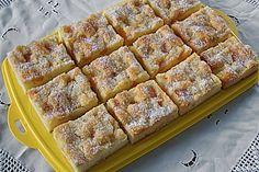 Erfrischender Ananas - Mandarine - Blechkuchen