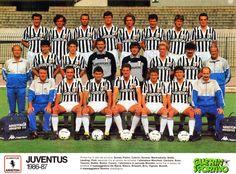 JUVENTUS DE TURIN 1986-87