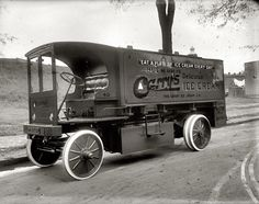 Walker Electric Ice Cream Delivery Truck