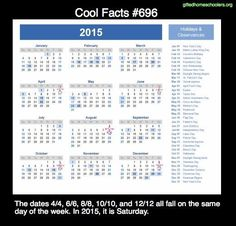 Cool facts #696  http://en.wikipedia.org/wiki/Doomsday_rule