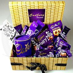 Cadbury Dairy Milk Chocolate Treasure Box - Ideal for Birthdays, Mothers Day, Fathers Day, Xmas, Thank you G Cadbury Dairy Milk Drinking Chocolate And Other Cadbury Dairy Milk Favoourites In A Moreton Gifts Treasure Box. Ideal Gift For Fathers Day / Birthdays Or Cadbury Lovers. (Barcode EAN = 0725627027314) http://www.comparestoreprices.co.uk/december-2016-3/cadbury-dairy-milk-chocolate-treasure-box--ideal-for-birthdays-mothers-day-fathers-day-xmas-thank-you-g.asp
