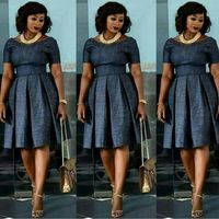 Look Jumoke Raji looks chic and style in her pleated dress Latest African Fashion Dresses, African Dresses For Women, African Print Dresses, African Print Fashion, African Attire, African Wear, African Women, Modest Fashion, Fashion Outfits