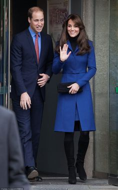 Whilst chatting to wellwishers who greeted the couple upon their arrival, Kate said she wi...