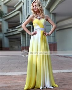 Shop Fantastic Sweetheart A-line Floor-length Evening Party Dress on sale at Tidestore with trendy design and good price. Come and find more fashion Best Selling Evening Dresses here. Ombre Bridesmaid Dresses, Cute Prom Dresses, Prom Outfits, Ball Dresses, Ball Gowns, Long Dresses, Halter Dresses, Bridesmaid Ideas, Dresses Dresses