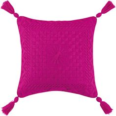 Portola Bargello Pillow in Fuchsia design by Trina Turk (16445 RSD) ❤ liked on Polyvore featuring home, home decor, throw pillows, pillows, trina turk throw pillows, trina turk, boho home decor, fuschia home decor and bohemian throw pillows