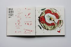 Cookbook created at Editorial And Typography Design Studio of prof. Sławomir…